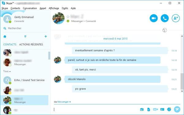 groupes de rencontres Skype