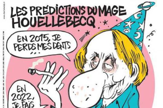 Charlie Hebdo: Houellebecq en une cette semaine