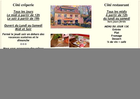 Restaurant : Ar Vadelen  - fiche informations -   © LE PORHO