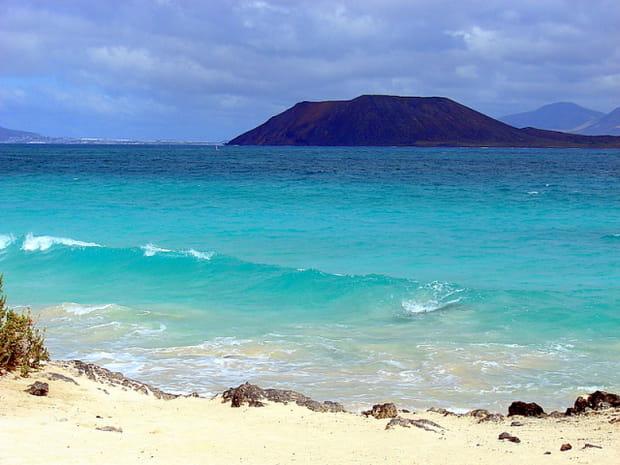 Corralejo sur l'île de Fuerteventura