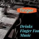 Restaurant : LE FINGER  - flyer -   © Finger
