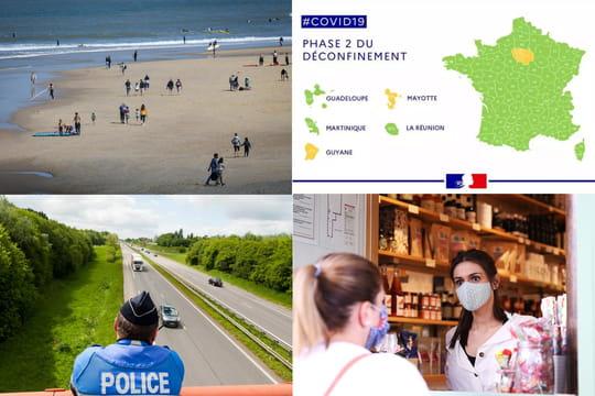 Déconfinement, phase 2: carte, déplacements, commerces... Autorisations et interdits