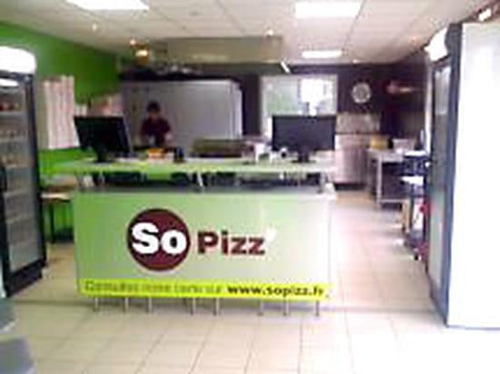 So pizz' - Pizzeria livraison & emporter  - Comptoire -   © N.C