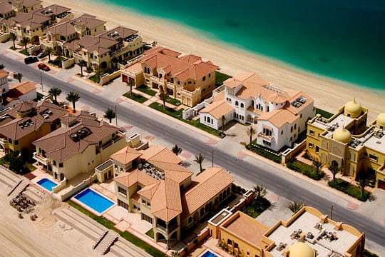 Des villas de luxe