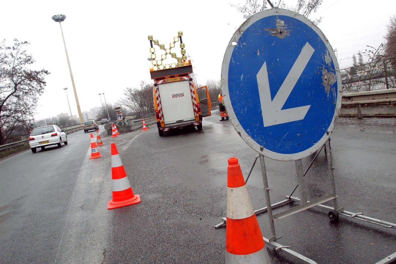 Affaissement du viaduc de Gennevilliers: l'A 15 coupée en direction de Paris