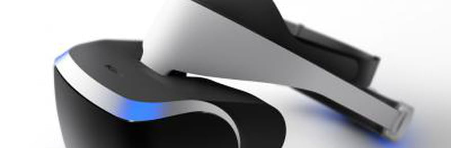 Sony lance son casque de réalité virtuelle
