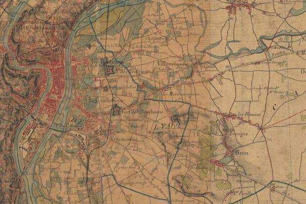 Lyon vers 1860