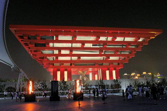 Promenade dans l'Expo de Shanghai 2010