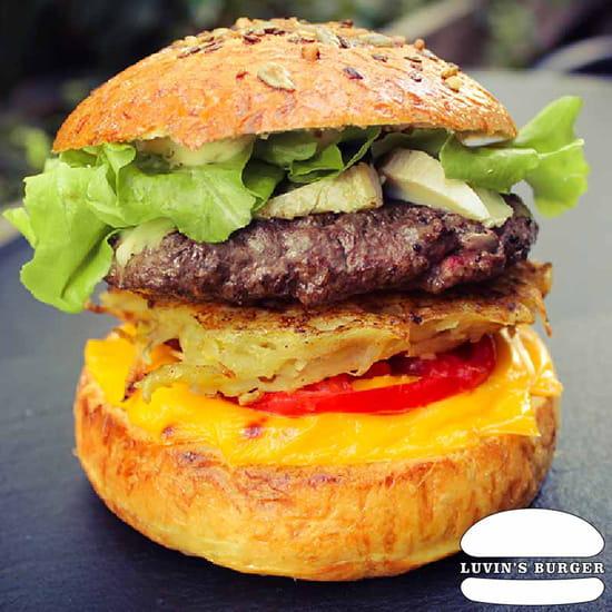 Plat : Luvin's Burger  - Burger – Le Savoyard -   © Luvin's Burger