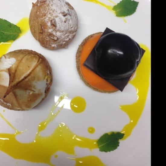 Dessert : Le Saint-Fiacre  - Café gourmand  -