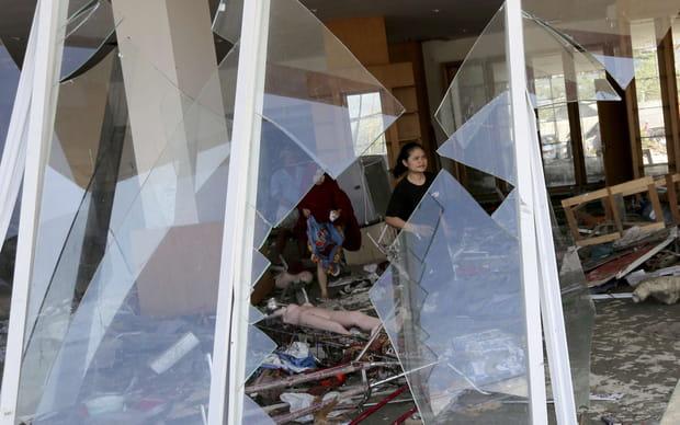 Les images du chaos en Indonésie
