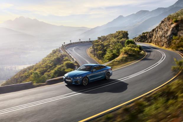 La BMW Serie 4Coupé en images