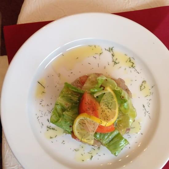 Restaurant : Du  Chateau d'humieres