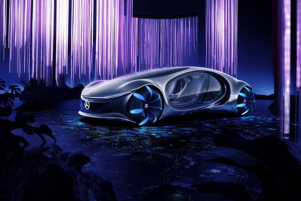 Un concept car futuriste dévoilé au salon high-tech CES