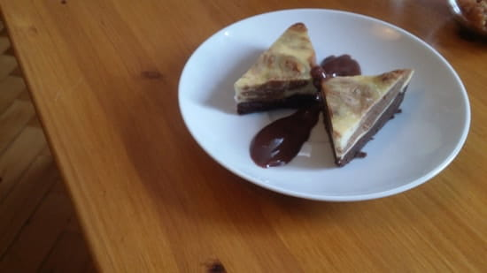 The Brunch  - Brownie-Cheesecake Praliné -   © Caracal Communication