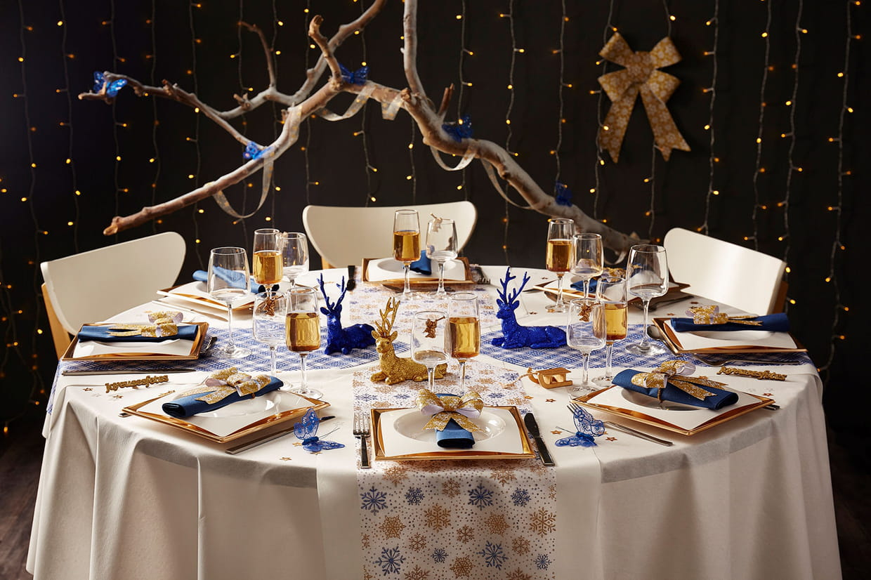 Idee de deco de table pour noel id es de design Idee deco table noel