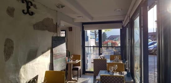 Restaurant : L'Osmose du Lac  - mur en Pierre -   © 1236