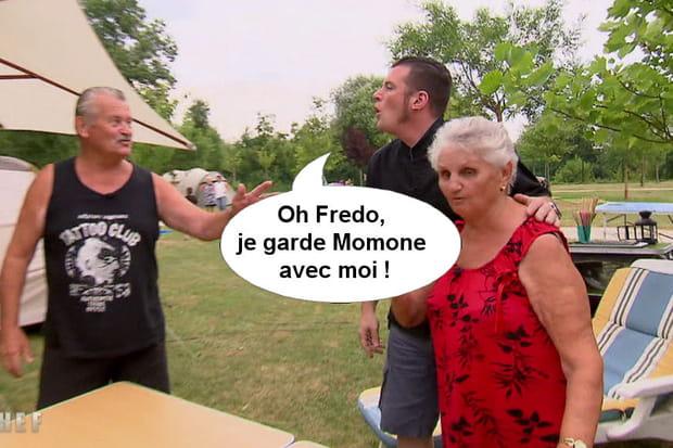 "Norbert à Fredo: ""Je garde Momone avec moi!"""