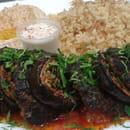 Plat : La Rocha   © Kebab d'aubergine