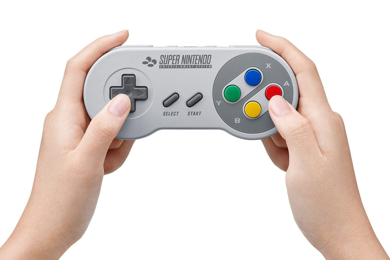 Nintendo Switch : la manette de SNES est disponible