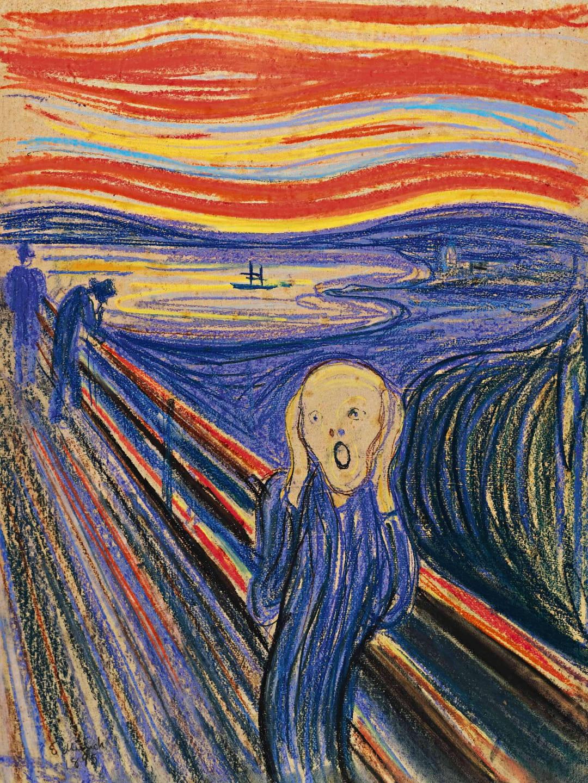 Edvard Munch Biographie Du Peintre Auteur Du Tableau Le Cri