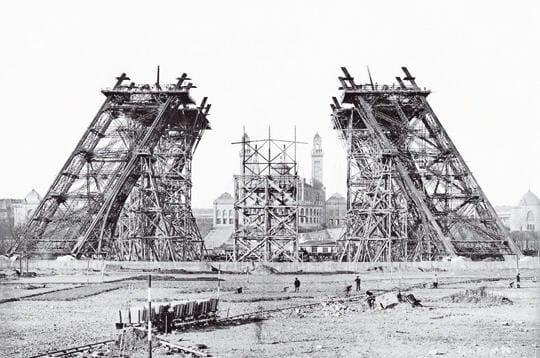 Pièce par pièce : la construction de la Tour Eiffel
