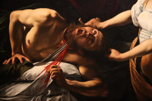 Le Caravage - Judith decapitant Holopherne