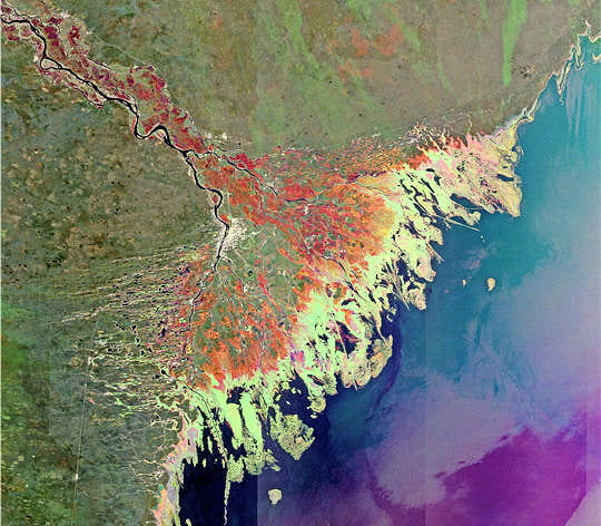 Entre la Volga et la mer Caspienne