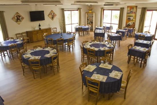 Hôtel***Restaurant-Séminaires Solenca  - Salle privative insonorisée et climatisée du Restaurant Solenca à Nogaro dans le Gers -   © Solenca