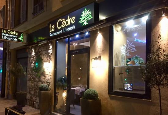 Entrée : Le Cèdre  - Le Cèdre. Restaurant Libanais a Nice -