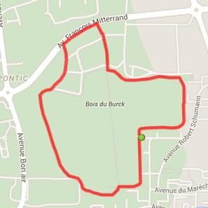 Bordeaux : le bois du Burck (2,9km)