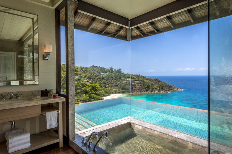 htels de luxe ces salles de bains qui font rver - Salle De Bain Hotel Luxe