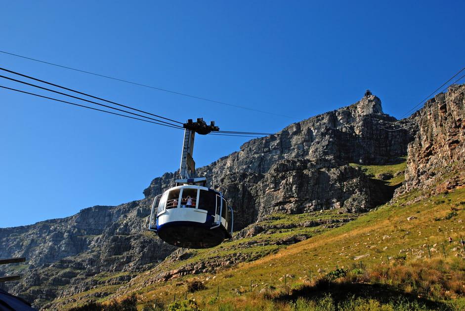 Au sommet de la Table Mountain
