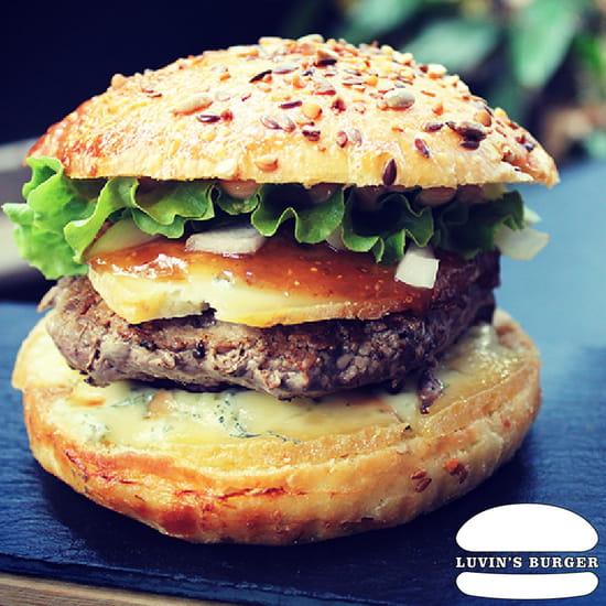 Plat : Luvin's Burger  - Burger – Le Forézien -   © Luvin's Burger