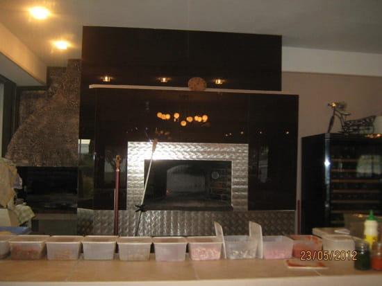 La Pampa  - Pizza au feu de bois. -