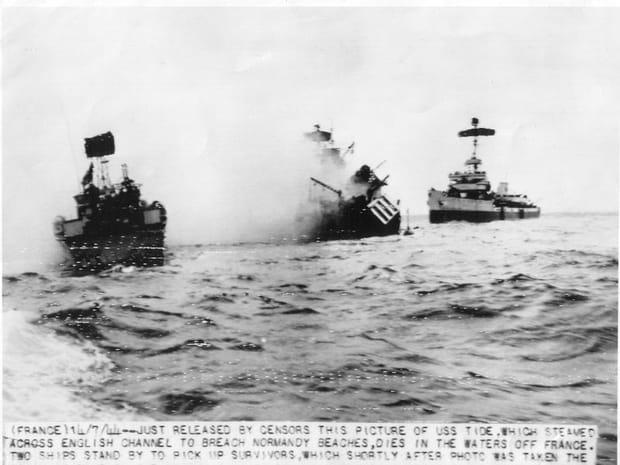 Le naufrage de l'USS Tide
