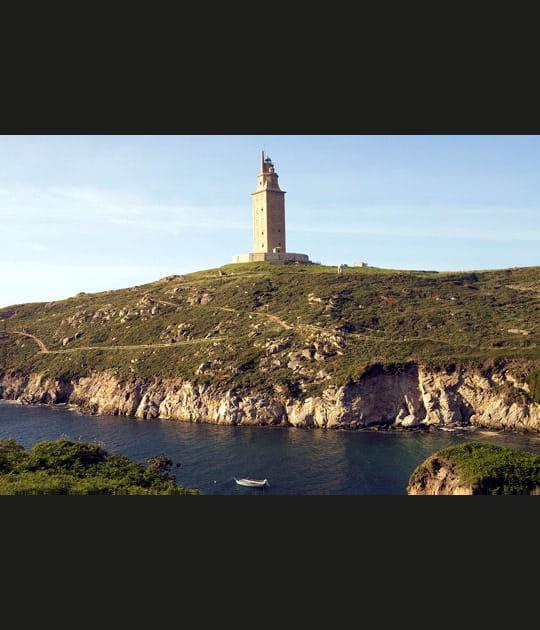 La tour d'Hercule en Espagne