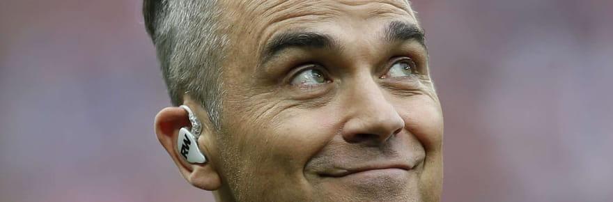Robbie Williams: ses explications sur son doigt d'honneur lors du Mondial