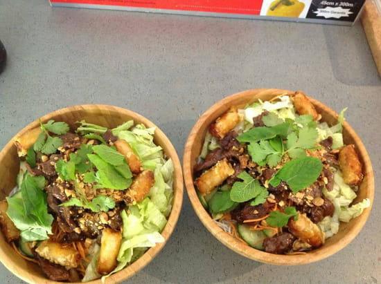Plat : Ici Sushi Lounge  - Bo bun -