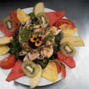 Les Canailles  - salade fraîcheur des îles -