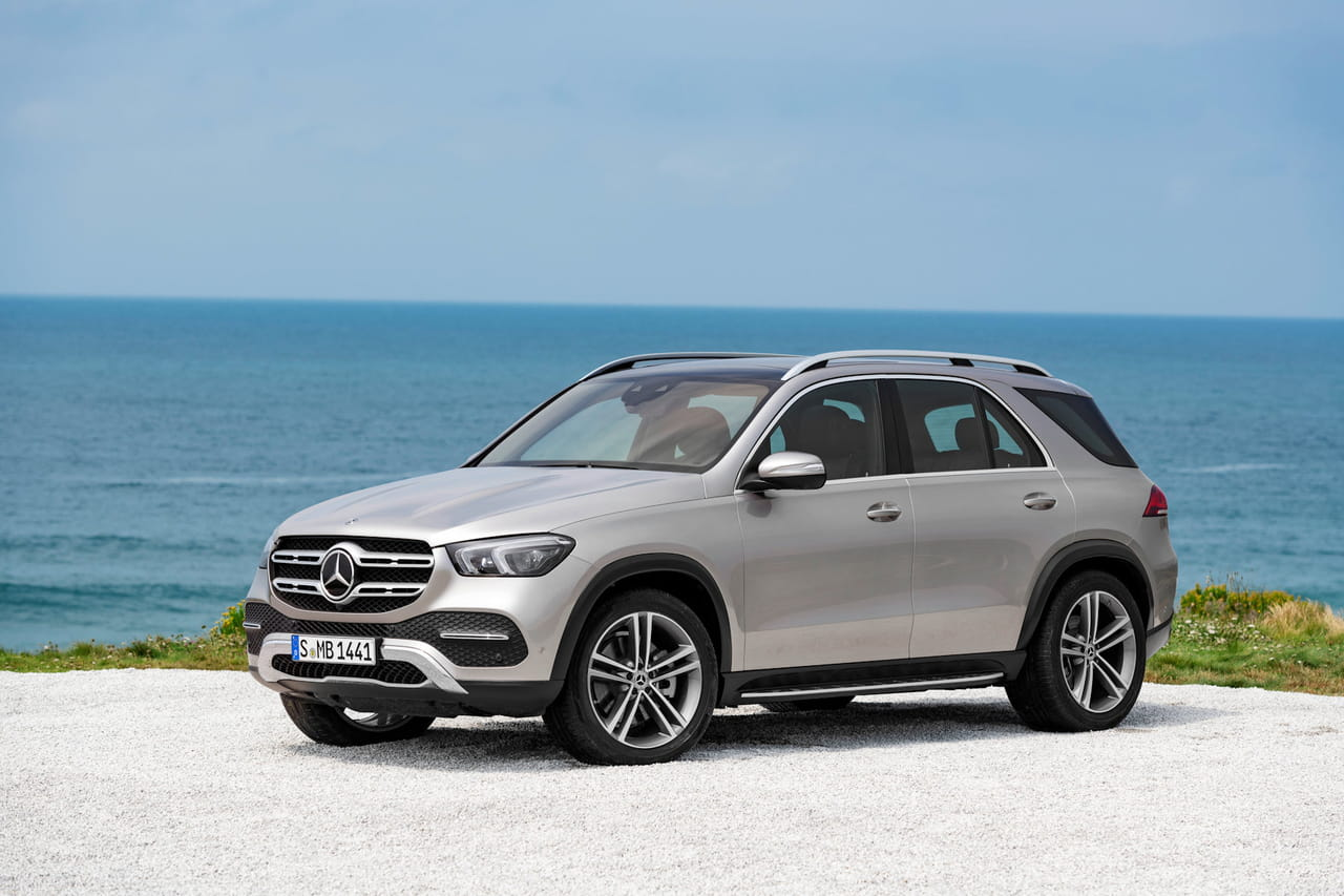 Mercedes GLE: les photos du nouveau SUV, il sera au Salon de l'Auto
