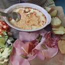 Plat : La soupe aux choux  - Gratin de munster  -