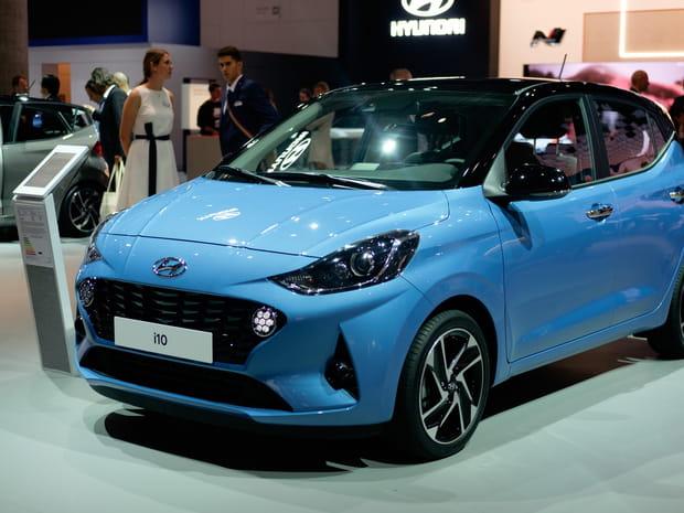 Les photos de la Hyundai i10au Salon de Francfort
