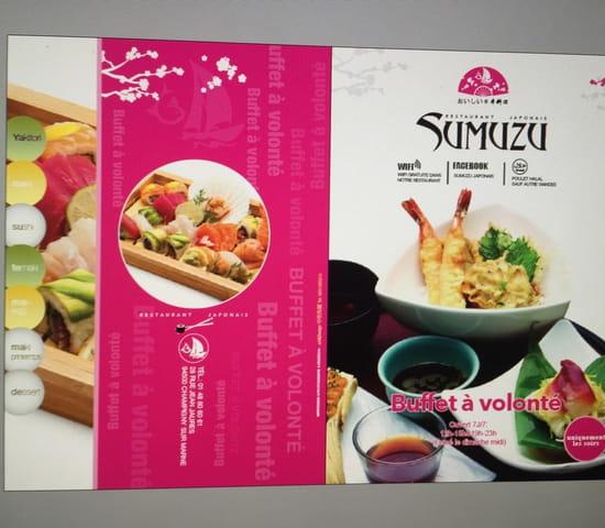 Restaurant : Sumuzu