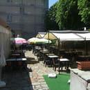 Restaurant les Messageries  - terrasse d'été -   © muriel barré