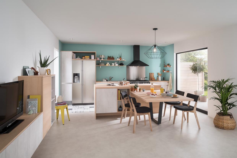 cuisine ouverte comment l 39 am nager id es photos conseils. Black Bedroom Furniture Sets. Home Design Ideas