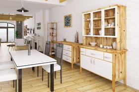 Vaisselier: moderne ou industriel? Blanc ou en bois? Notre sélection
