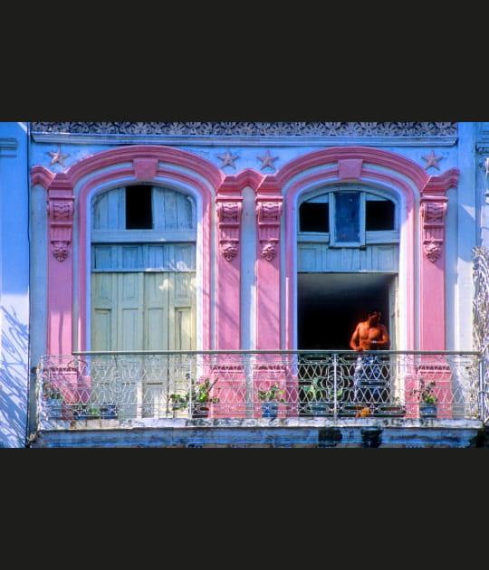Coup d'œil au balcon