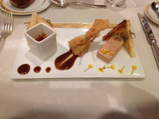 Entrée : Hôtel de France  - Déclinaison de foie gras de canard -