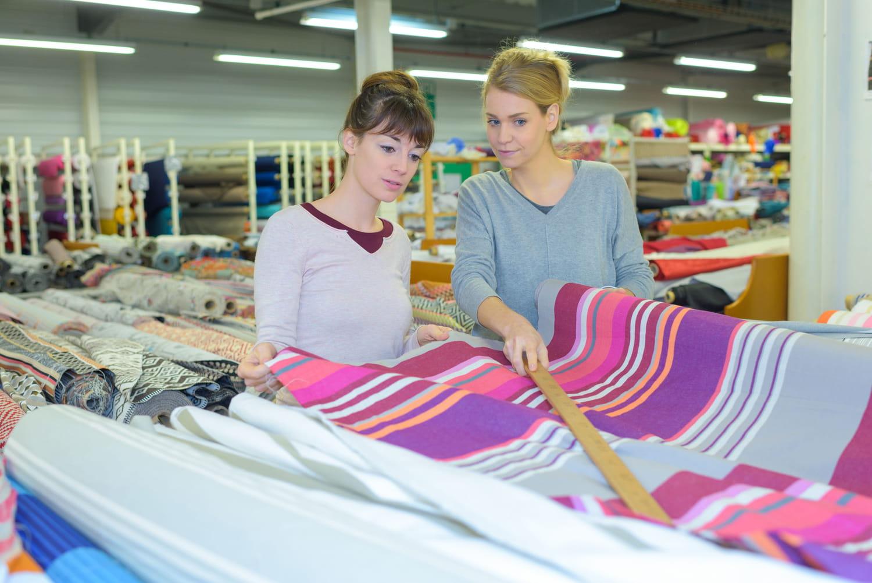 Tissu au mètre: comment bien le choisir